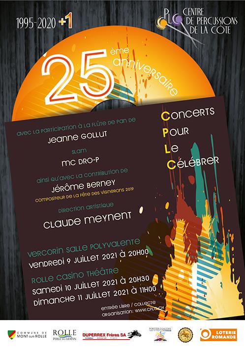 9-10-11 Juillet 2021 – Concerts du CPLC